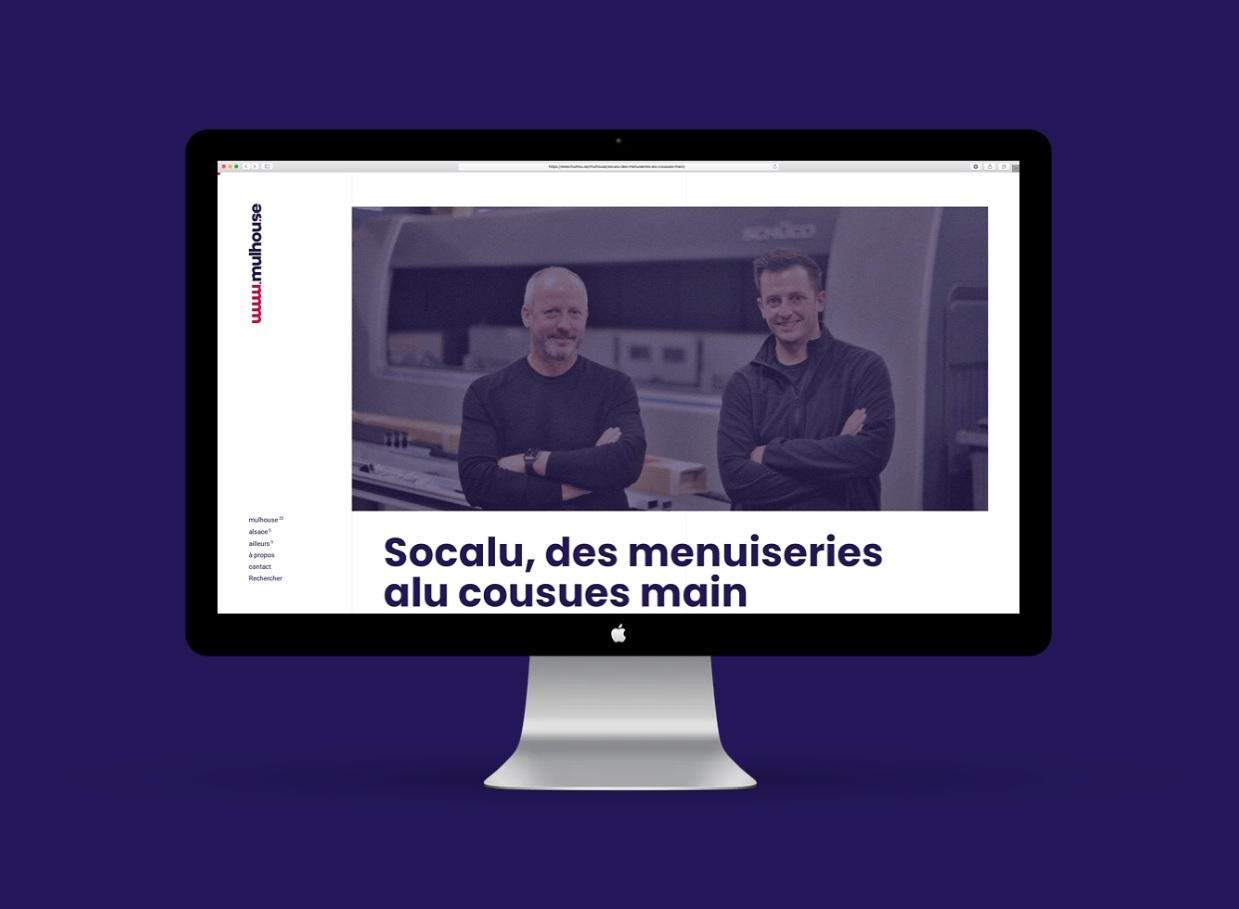 Site internet Mulhouse